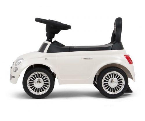 Milly Mally jeździk pojazd dla dziecka Fiat 500 biały18m+