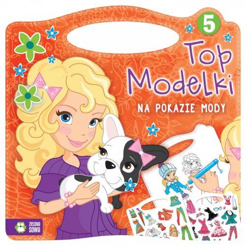 Top modelki na pokazie mody ubranka dla lalek + portfel gratis