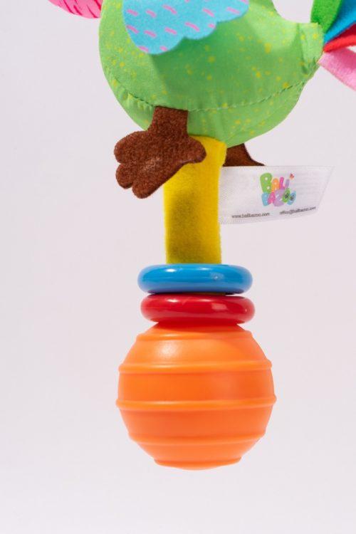 Balibazoo grzechotka dla niemowląt ptaszek  0m+ DD80418