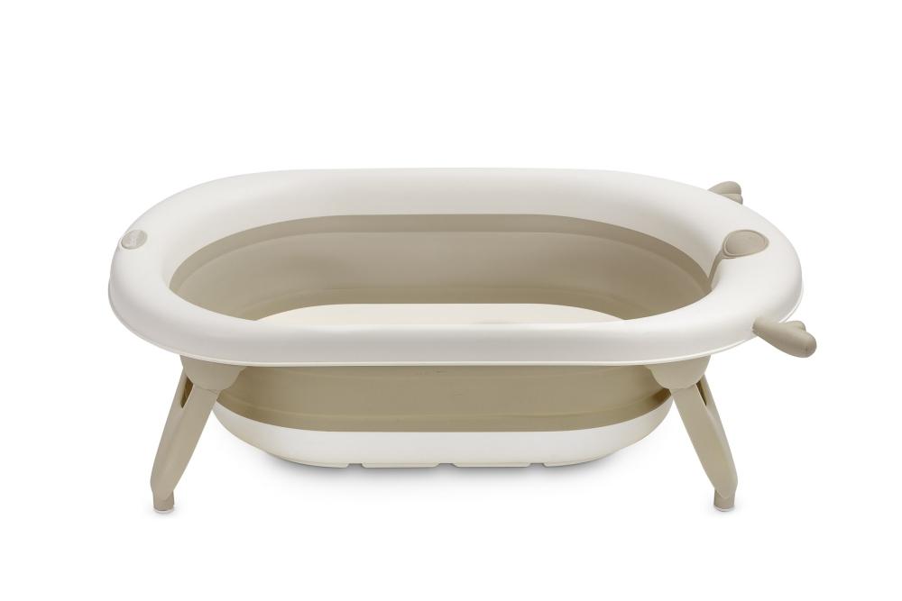 Wanienka składana dla niemowląt do kąpieli Sensillo beżowa