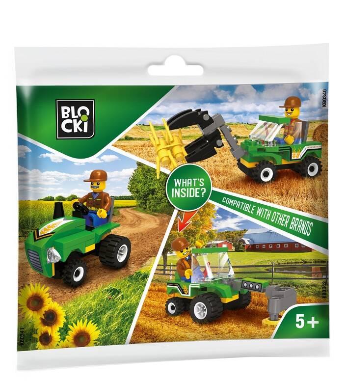 Blocki klocki My Farm saszetka 14.5 cm x 19 cm