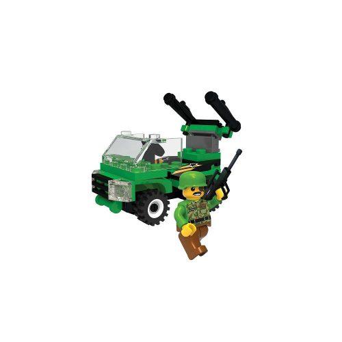 Blocki klocki My Army Wóz z działem KB0919 9.4x 14.5x 4 cm