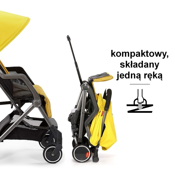 Wózek spacerowy Diono Trawerze Yellow Sulphur