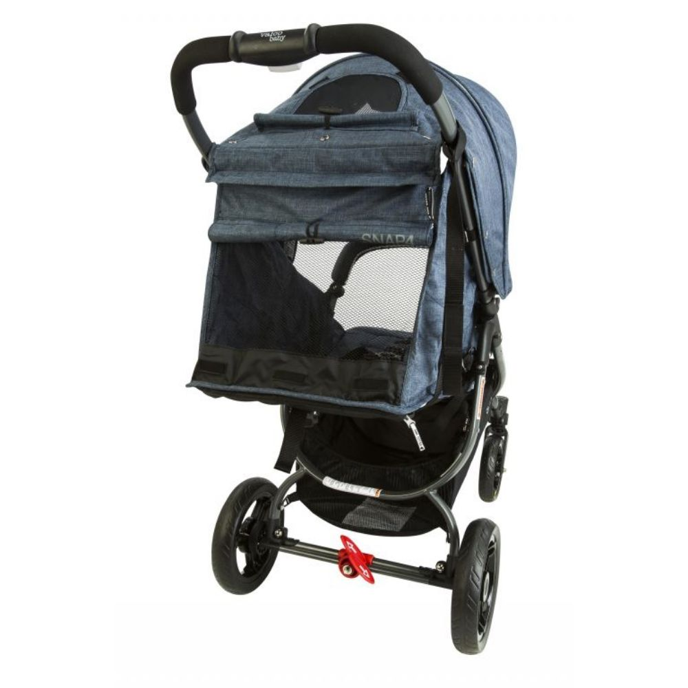Wózek spacerowy Valco Baby Snap 4 Sport Tailor Made na pompowanych kołach, kolor Charcoal + GRATIS