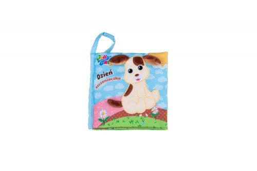 Jolly baby książeczka edukacyjna materiałowa dzień szczeniaczka 6m+ JB80458