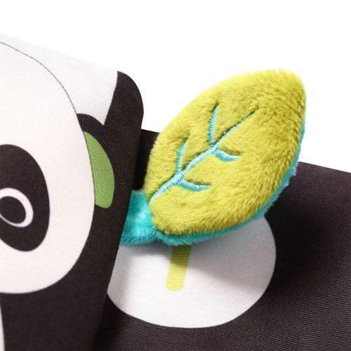 Babyono książeczka sensoryczna kontrastowa Dream team c more collection 3m+