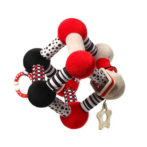 Babyono edukacyjna zabawka dla niemowląt Tiny yoga cube c more collection 3m+