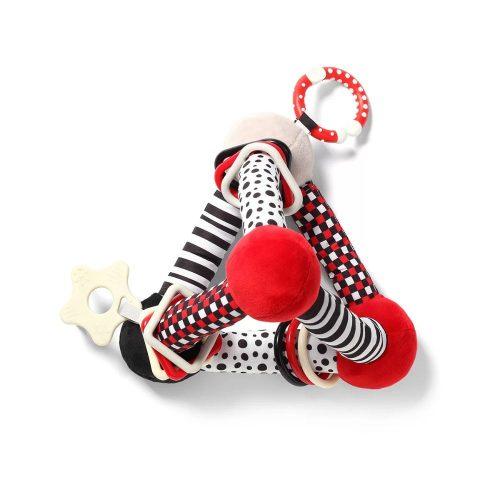 Babyono edukacyjna zabawka dla niemowląt Tiny yoga triangle c more collection 3m+
