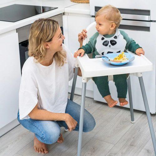 Elastyczne łyżeczki dla niemowląt BabyOno giętkie łyżeczki Turkus