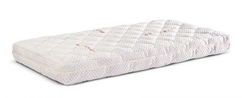 Materac do łóżeczka niemowlęcego visco cashmere 120x60 11 cm Sensillo