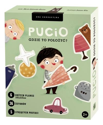 Gry dla najmłodszych 2+ Pucio gdzie to położyć ?