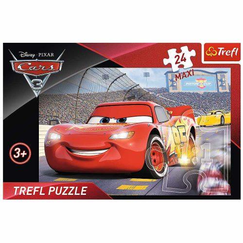 Trefl Puzzle maxi 24el. Cars 3 Mistrz