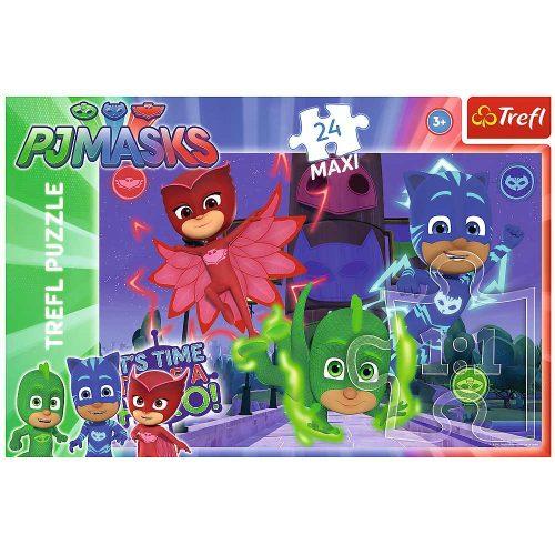 Trefl Puzzle maxi 24el. PJ Masks ukryci bohaterowie