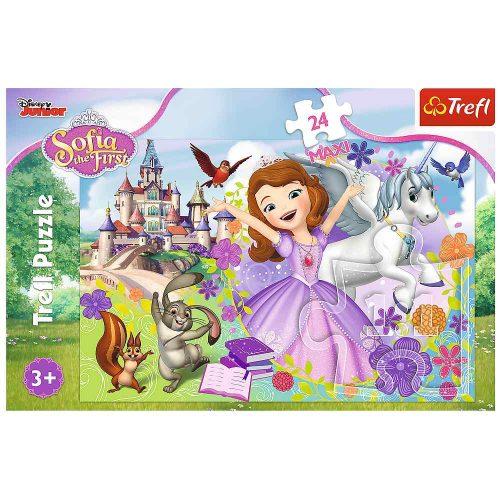 Trefl Puzzle maxi 24el. Kolorowy świat Zosi