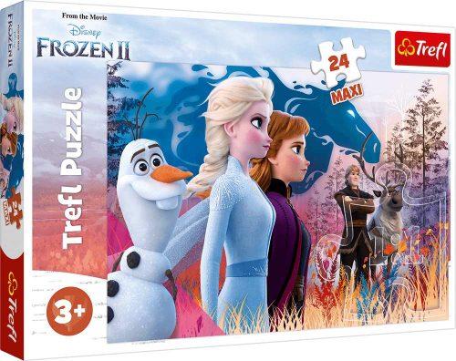 Trefl Puzzle maxi 24el. Frozen 2 Magiczna wyprawa