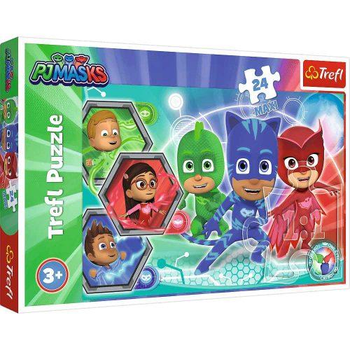 Trefl Puzzle maxi 24el. Pidżamersi Transformacja