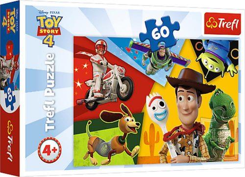 Trefl Puzzle 60el. Toy Story 4 Stworzeni do zabawy