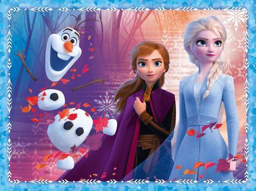 Trefl Puzzle 2w1 30 48el. + memory Disney Frozen 2 Tajemnicza kraina