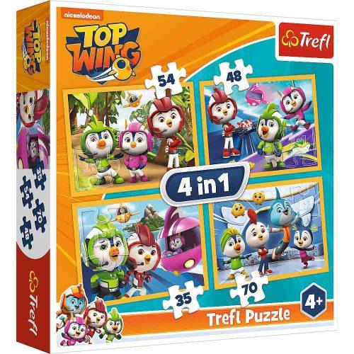 Trefl Puzzle 4w1 35 48 54 70 el. Top Wing
