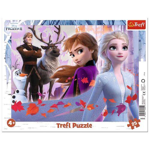 Trefl Puzzle ramkowe 25 el Przygody w Krainie Lodu