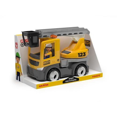 Wader Multigo Biuld ciężarówka z drabiną i kierowcą EF27273