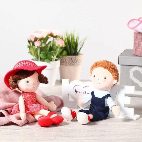 Lalka szmaciana przytulanka Olivier doll Babyono 30cm