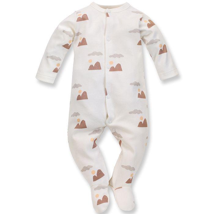 Pinokio pajac niemowlęcy Dreamer 68 ecru druk