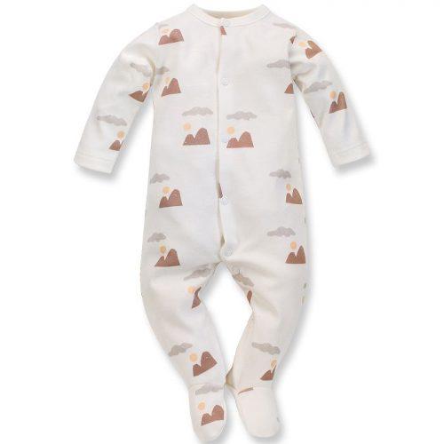 Pinokio pajac niemowlęcy Dreamer 74 ecru druk