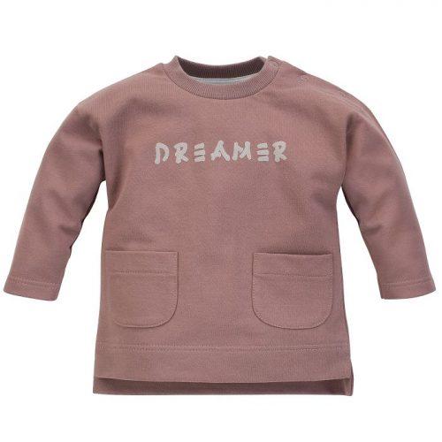 Pinokio bluza dla dziecka Dreamer 68 ciemny bez