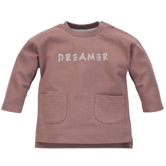 Pinokio bluza dla dziecka Dreamer 74 ciemny bez