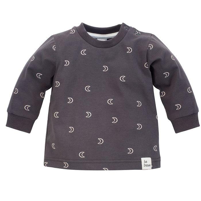 Pinokio bluzka dla dziecka Dreamer 104 grafit druk