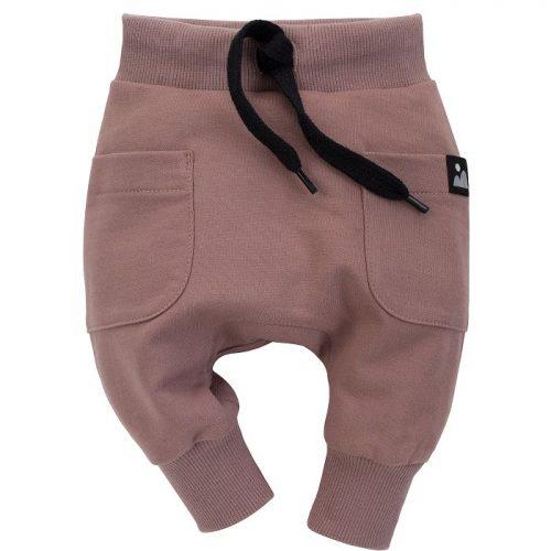 Pinokio spodnie dla dziecka pumpy Dreamer 68 ciemny bez