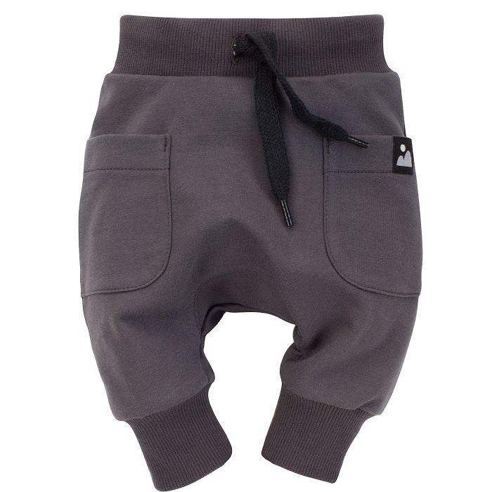 Pinokio spodnie dla dziecka pumpy Dreamer 80 grafit