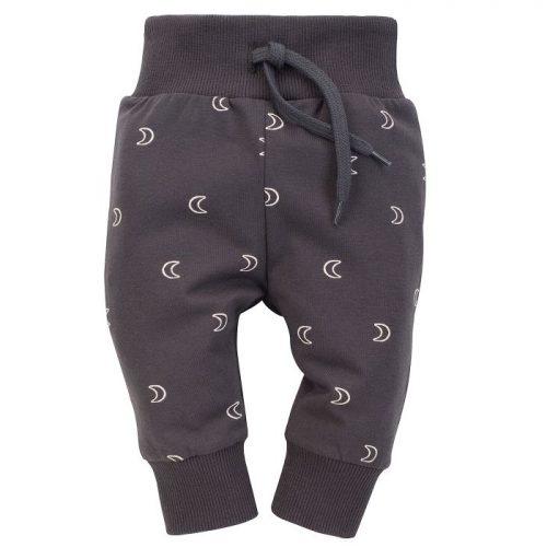 Pinokio leginsy spodnie dla dziecka Dreamer 68 grafit druk