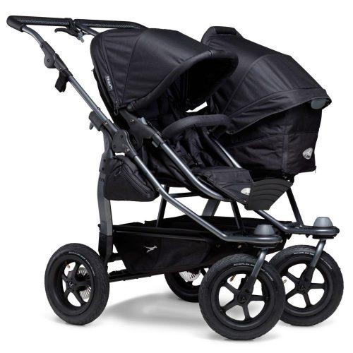 Gondola wraz z siedziskiem spacerowym do wózka TFK Duo Comfort, TFK Duo Sport kolor Antracyt Premium