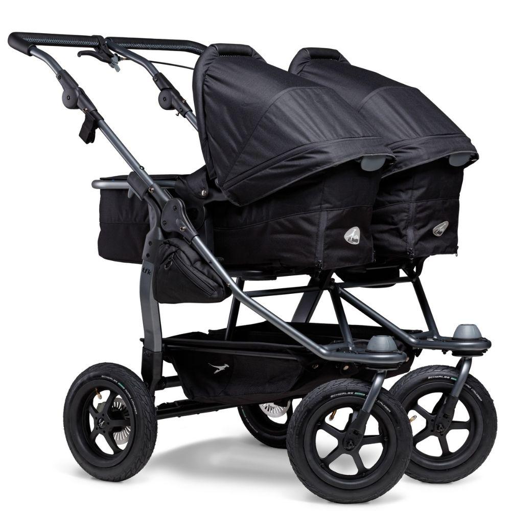 Gondola wraz z siedziskiem spacerowym do wózka TFK Duo Comfort, TFK Duo Sport kolor Brązowy