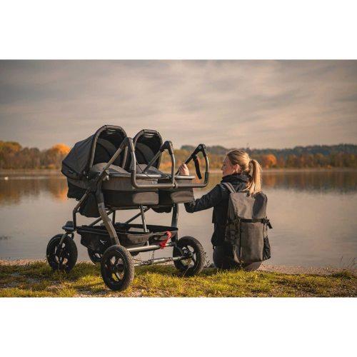 Gondola wraz z siedziskiem spacerowym do wózka TFK Duo Comfort, TFK Duo Sport kolor Granatowy