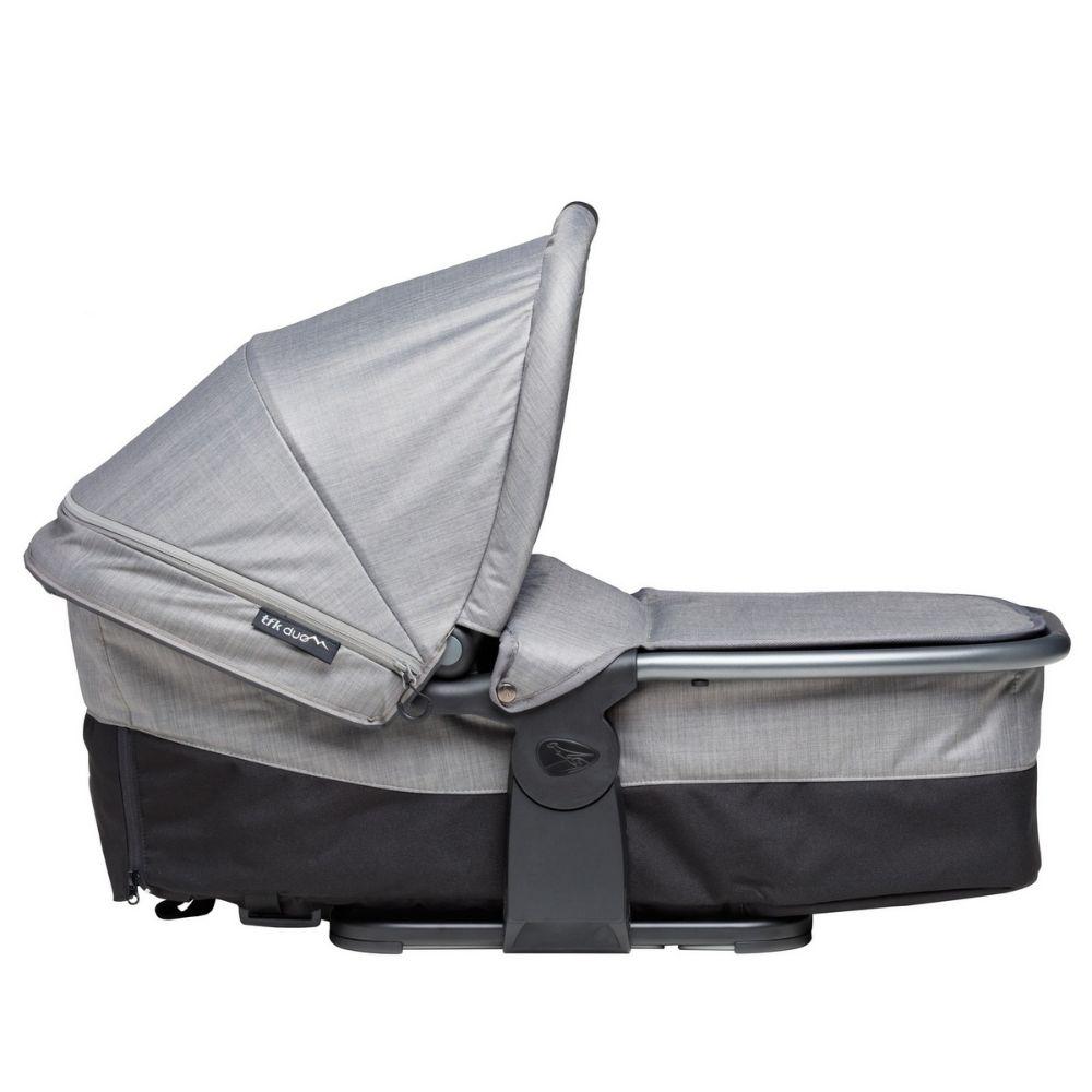 Gondola wraz z siedziskiem spacerowym do wózka TFK Duo Comfort, TFK Duo Sport kolor Szary