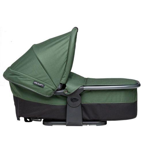 Gondola wraz z siedziskiem spacerowym do wózka TFK Duo Comfort, TFK Duo Sport kolor Zielony