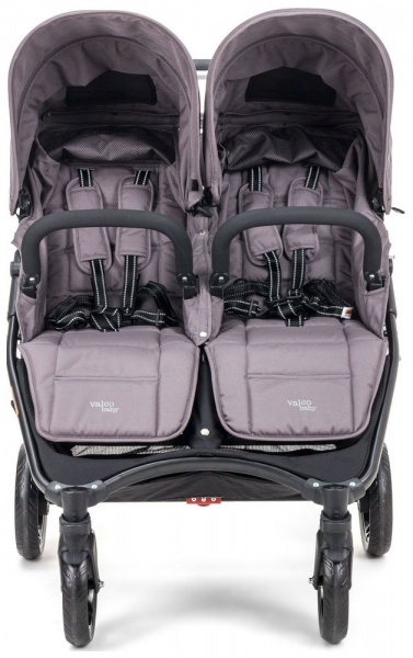 Bliźniaczy wózek spacerowy Valco Baby Snap Duo 9,8 KG kolor Dove Grey