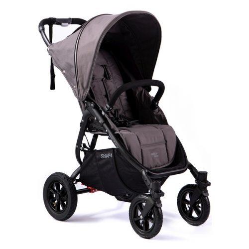 Wózek spacerowy Valco Baby Snap 4 Sport na pompowanych kołach, kolor Dove Grey