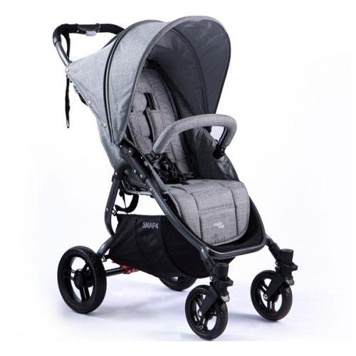 Lekki wózek spacerowy Valco Baby Snap 4 Tailor Made kolor Grey Marle + GRATIS