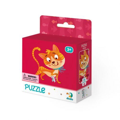 Puzzle dla dzieci 2+ 16 elementów Kotek