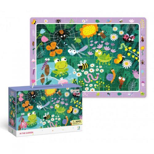 Puzzle dla dziecka 80 el Obserwacyjne w Ogrodzie