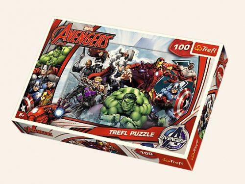 Trefl Puzzle 100el Avengers: Do Ataku