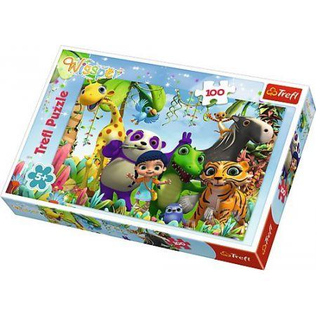 Trefl Puzzle 100el Wissper i przyjaciele