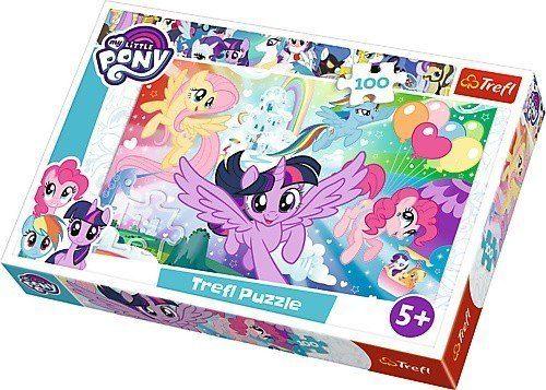 Trefl Puzzle 100el My Little Pony: Tęczowa kraina