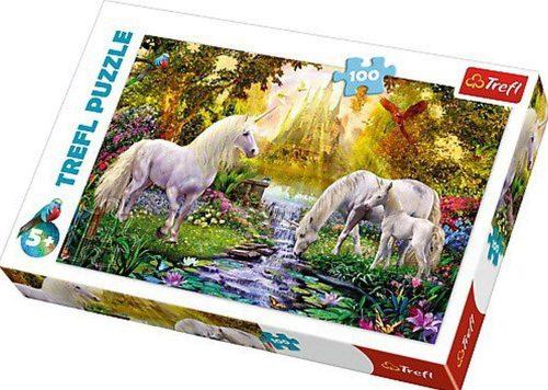 Trefl Puzzle 100el Sekretny ogród