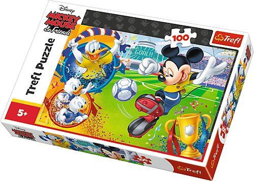 Trefl Puzzle 100el Myszka Miki na boisku