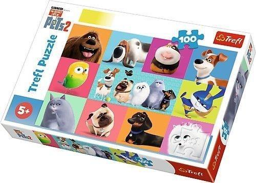 Trefl Puzzle 100el Słodkie zwierzątka